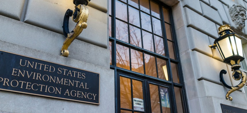 The Environmental Protection Agency hasn't yet furloughed many employees, but will be forced to start shutdown procedures if there is no spending deal on Friday.