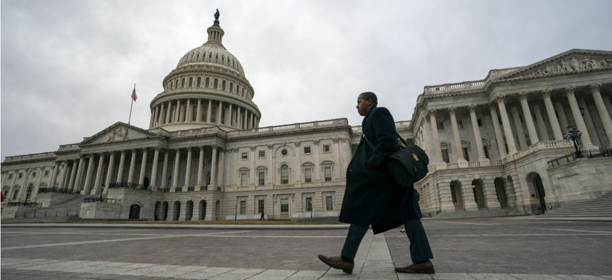 The Capitol on Monday, Jan. 7, as the partial government shutdown lurches into a third week.