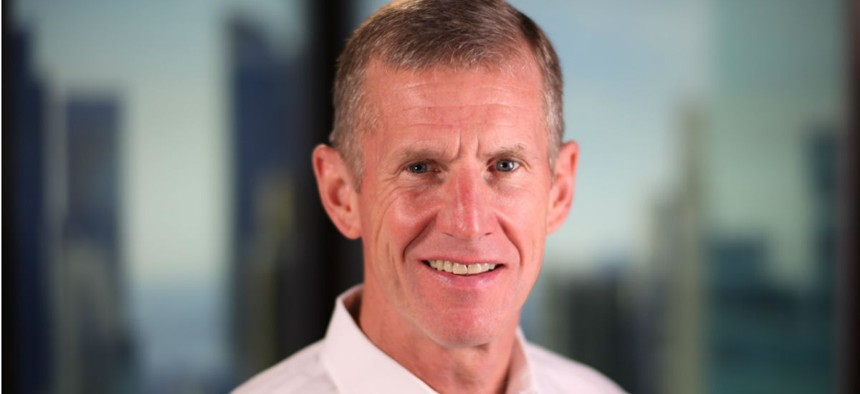 Retired Gen. Stanley McChrystal says people make the choice to lead when the opportunity arises.