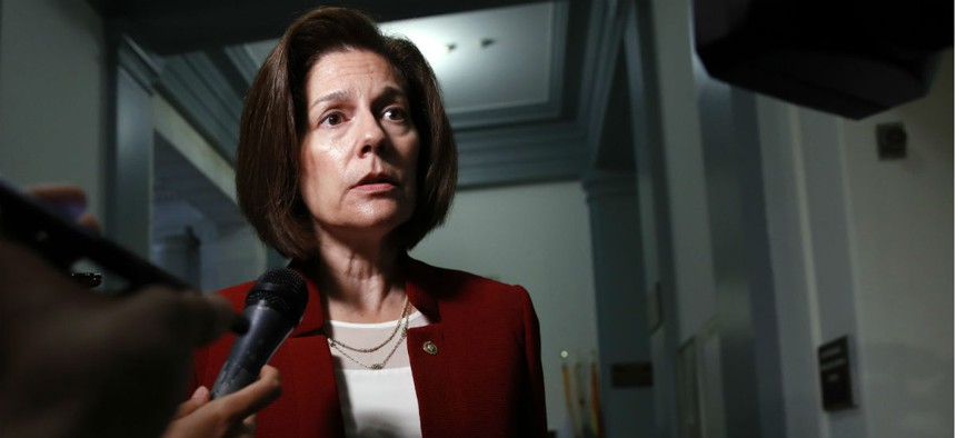 """Sen. Catherine Cortez Masto, D-Nev., said Energy Department leaders """"have caused potentially irreparable damage to a previously collaborative state-federal relationship."""""""