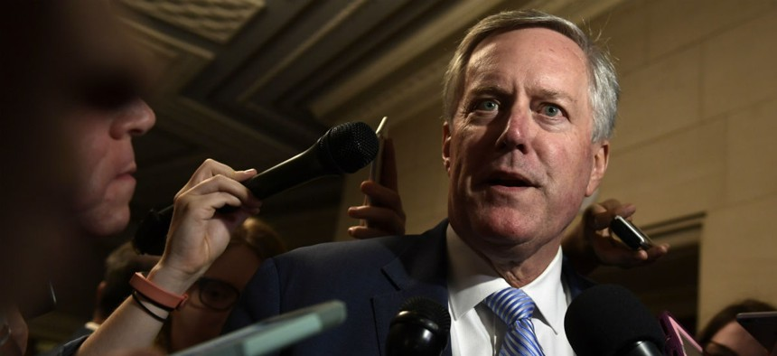 """Rep. Mark Meadows, R-N.C., said:  """"FOIA is not a partisan issue. But we continue to miss the [deadlines in the] statute."""""""