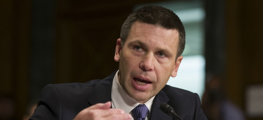 The president has picked Customs and Border Protection Commissioner Kevin McAleenan to lead DHS on a temporary basis, but a law dictates that the undersecretary for management fill that role.