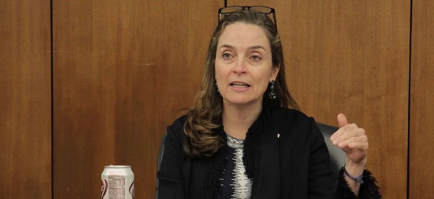 Acting OPM Director Margaret Weichert  gave lawmakers an ultimatum.