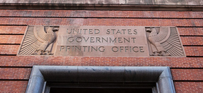 The Government Publishing Office, formerly known as the Government Printing Office.