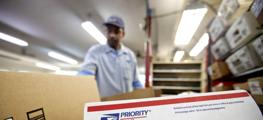 Despite a drop in mail volume and efforts to cut personnel costs, Postal Service overtime costs have soared.