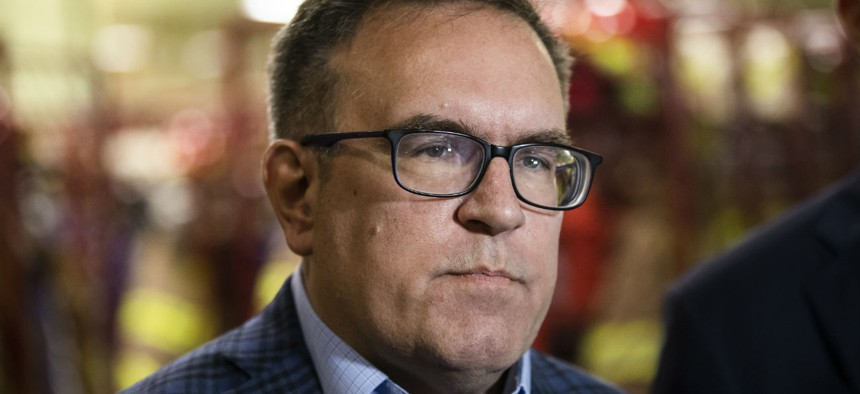 EPA Administrator Andrew Wheeler sent a memo saying the closure would improve efficiency.