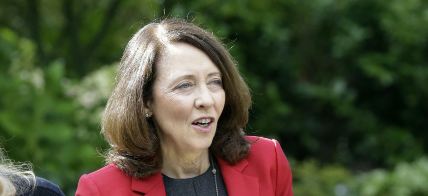 Sen. Maria Cantwell, D-Wash., (above) introduced legislation with Sen. Susan Collins, R-Maine, that would restore administrative law judges to the competitive service.