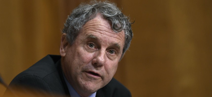 """Sen. Sherrod Brown, D-Ohio, took the lead on a letter accusing the department of a """"destructive approach"""" in ongoing negotiations on a new collective bargaining agreement."""