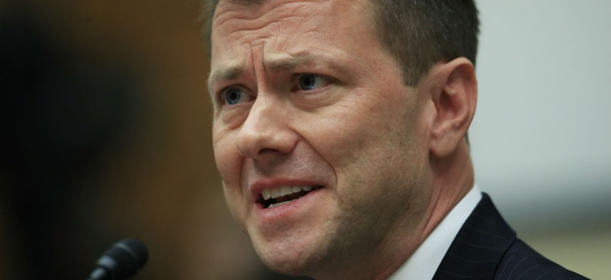 Former FBI agent Peter Strzok is suing to be reinstated in his job, and for back pay.