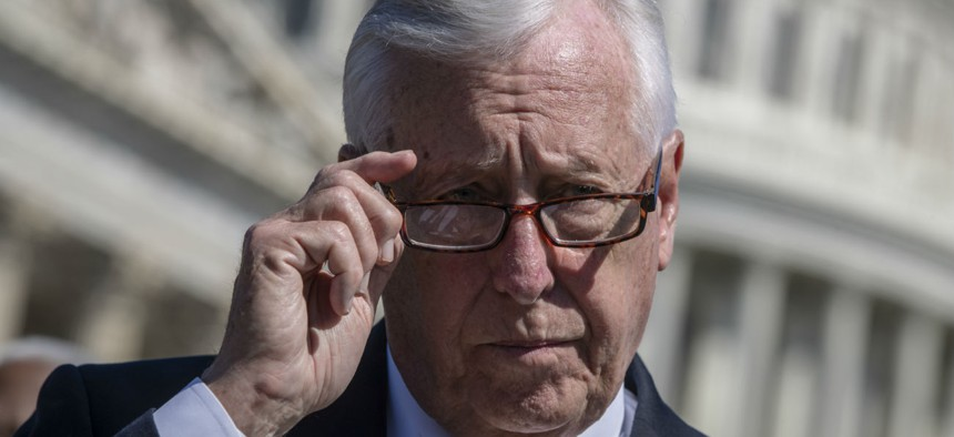 House Majority Leader Steny Hoyer, D-Md., would like Congress to pass 2020 appropriations by the end of September, but concedes that is unlikely.