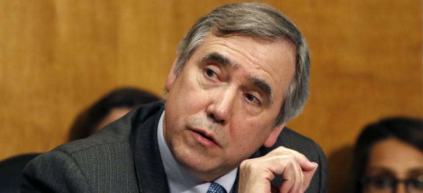 Sen. Jeff Merkley, D-Ore., said he was disappointed that lawmakers could not agree to block USDA science agency relocations.