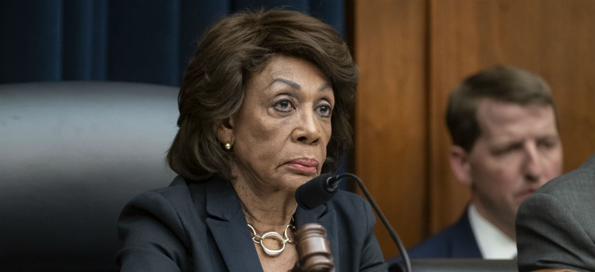 House Financial Services Committee Chairwoman Rep. Maxine Waters, D-Calif., introduced one of the bills.