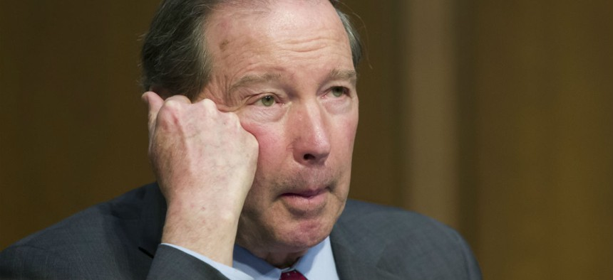 Sen. Tom Udall, D-N.M., said the lack of funding for the relocation in the spending bill should send a message to the Interior Department.