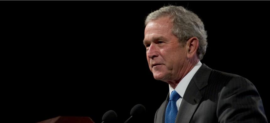 Former President George W. Bush in 2011.