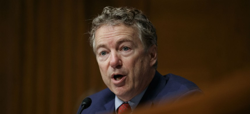 """Sen. Rand Paul, R-Ky., said: """"These are not the kind of zombies we see on the 'Walking Dead,' or what we might see on our doorsteps tomorrow evening...these zombies are scarier."""""""