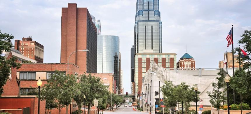 Downtown Kansas City, Missouri.