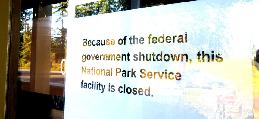 Some of the provisions would protect federal employees during a lapse in appropriations.