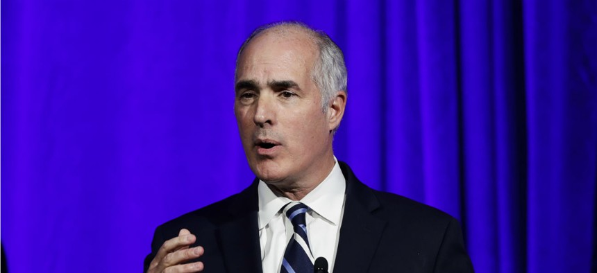 """""""All employees, regardless of pay schedule, should be treated equally,"""" said Sen. Bob Casey, D-Pa."""
