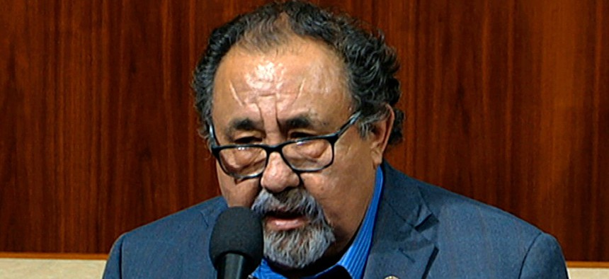 """Rep. Raúl Grijalva, D-Ariz., said: """"There comes a fundamental time where this committee has to establish itself as a co-equal."""""""