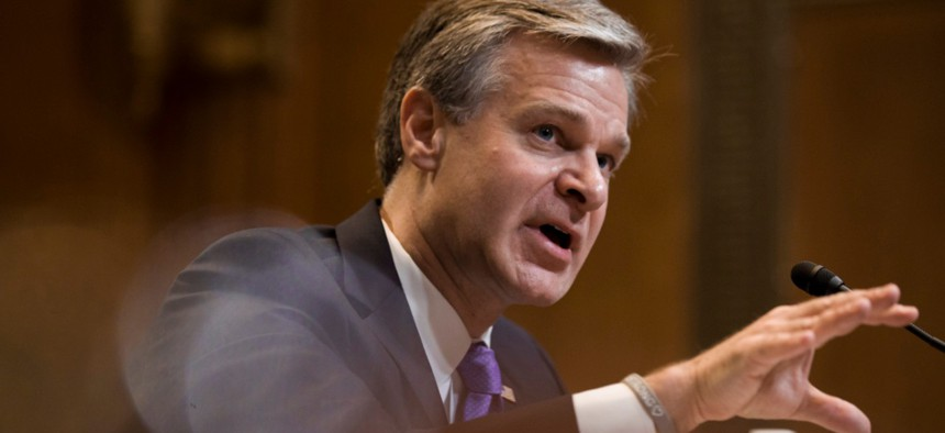 FBI Director Christopher Wray has shown a commitment to increasing diversity within the bureau's workforce.