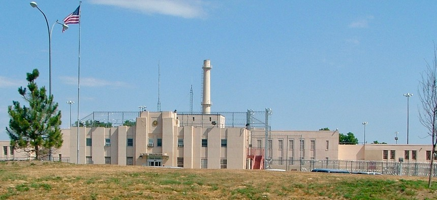 The Federal Correctional Institution, Englewood in Jefferson County, Colorado is shown in 2007.