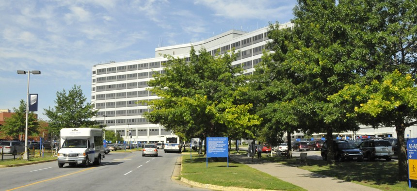 The James J. Peters VA Medical Center is shown in 2008.