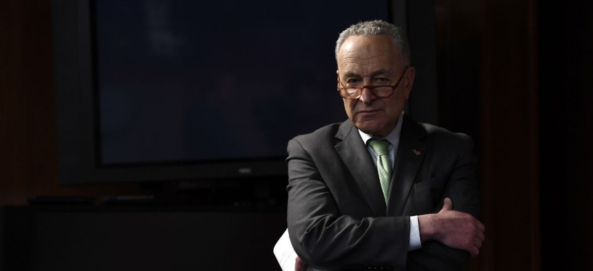 """""""CBP officers risk their own health, and the health of their families, to continue serving their country during a global pandemic, and they deserve better,"""" says Sen. Schumer, D-N.Y."""