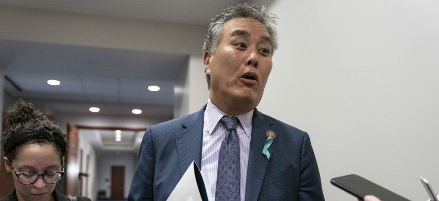 House Veterans Affairs Committee Chairman Mark Takano, D-Calif., said Friday nearly 200 VA employees had tested positive for COVID-19.