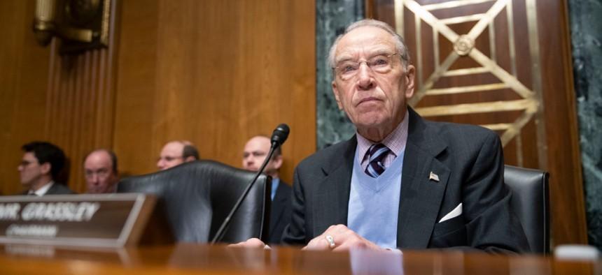 Sen. Chuck Grassley, R-Iowa, introduced a bill granting new hiring authority.