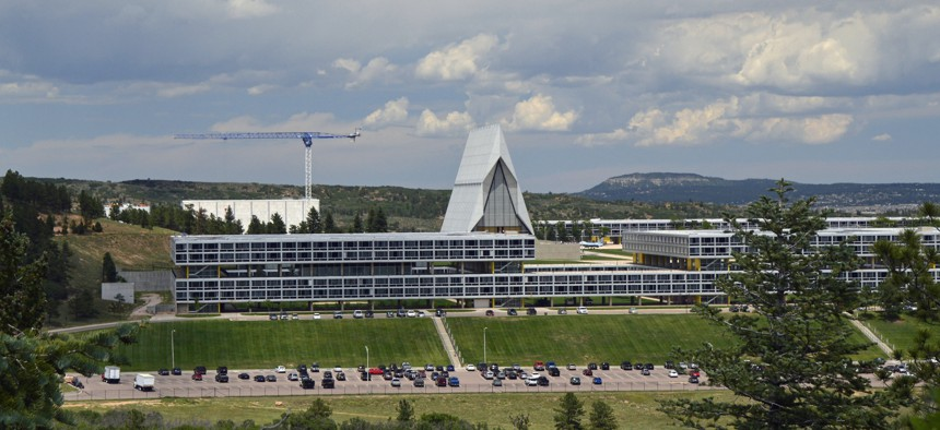 Housing and education structures for Air Force Cadets. Located in Colorado Springs, CO.