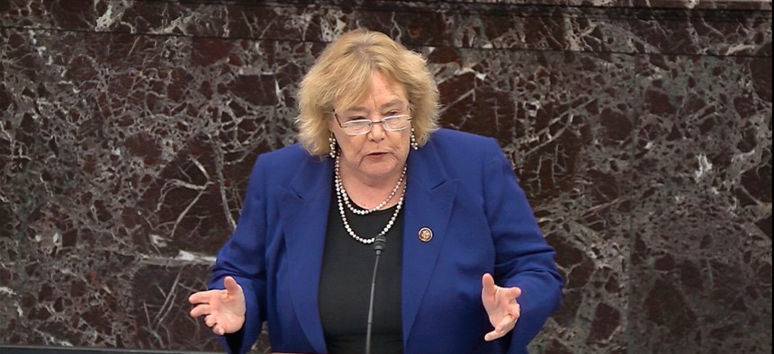 Rep. Zoe Lofgren, D-Calif., chairs the subcommittee that held Wednesday's hearing.