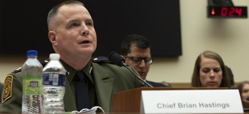 Chief, Law Enforcement, U.S. Border Patrol Brian Hastings testifies before the House Committee on the Judiciary in a hearing in 2019.
