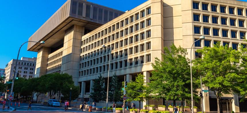 FBI headquarters in Washington.