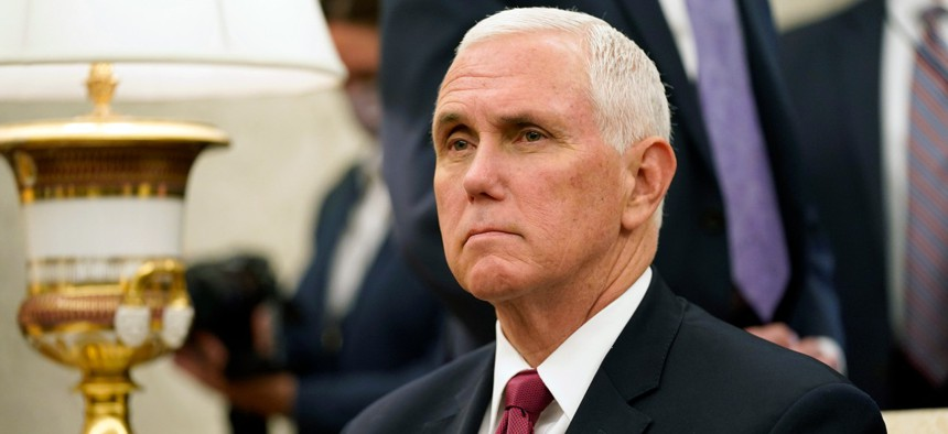Vice President Mike Pence on Friday morning defended his assessment in June that there was no second wave of the novel coronavirus.
