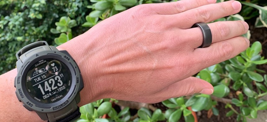 Watch and ring — by Garmin and Oura, respectively--that can detect symptoms indicating illness 48 hours in advance.