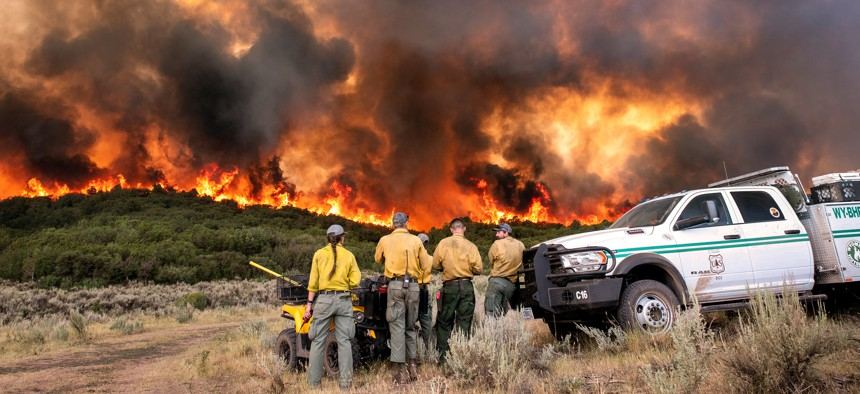 The Pine Gulch fire in Colorado burned more than 139,000 acres this year. It is the largest fire in the state's history.