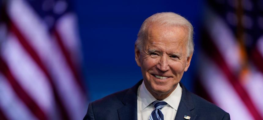 Vice President-elect Joe Biden.