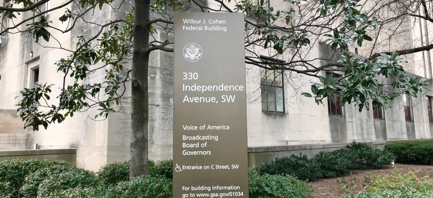 The Voice of America is part of the U.S. Agency for Global Media. Among alleged leadership problems are breaches of the firewall that prevents political interference at VOA.