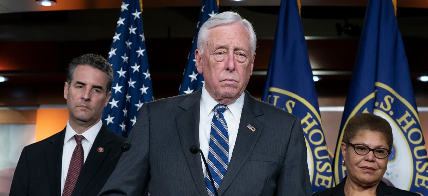 House Majority Leader Steny Hoyer, D-Md., said the passage of a second continuing resolution represented a failure on the part of Congress.
