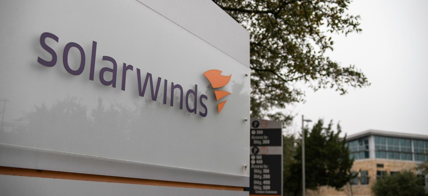 SolarWinds Inc. is used by agencies like Energy, Commerce and Treasury for IT management, systems and networking solutions.