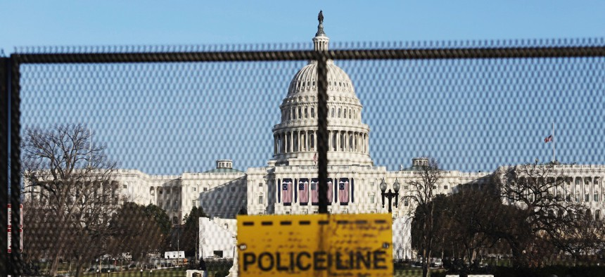 Thousands of National Guard troops and additional security personnel have been sent to Washington in advance of Inauguration Day.