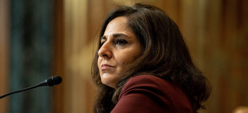 Neera Tanden was President Biden's pick to head OMB.