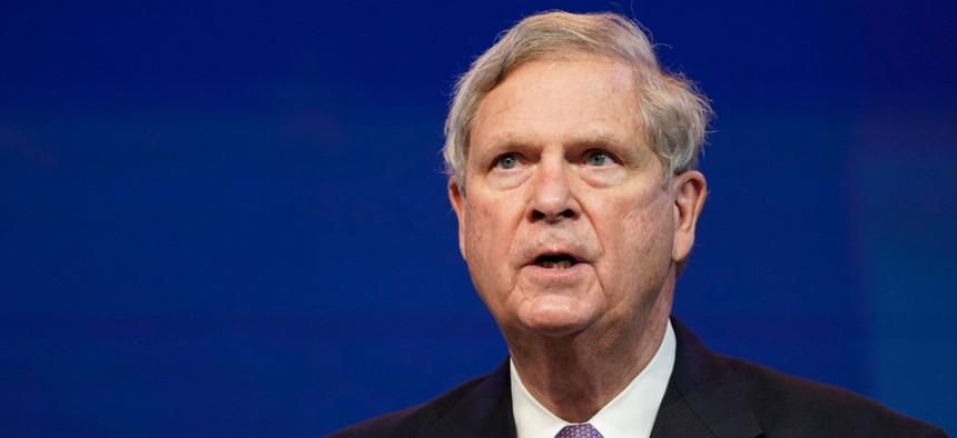 Agriculture Secretary Tom Vilsack is reviewing jobs across the department to see which could remain virtual after the pandemic.