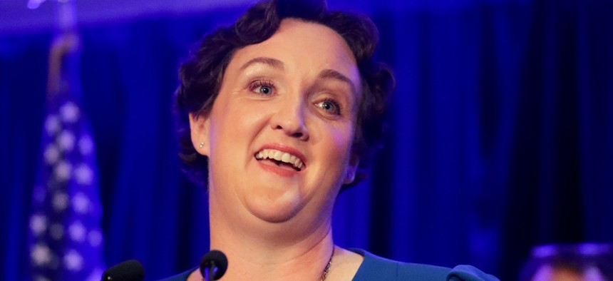 Rep. Katie Porter, D-Calif., plans to reintroduce a bill that would reform the vacancies act.
