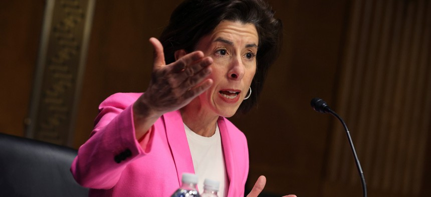 """I trust these experts and I'm confident in this work,"" said Commerce Secretary Gina Raimondo."