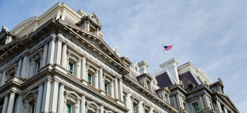 The Office of Management and Budget, housed within the Eisenhower Executive Office Building, had the biggest drop in job satisfaction on the survey compared to the previous year.