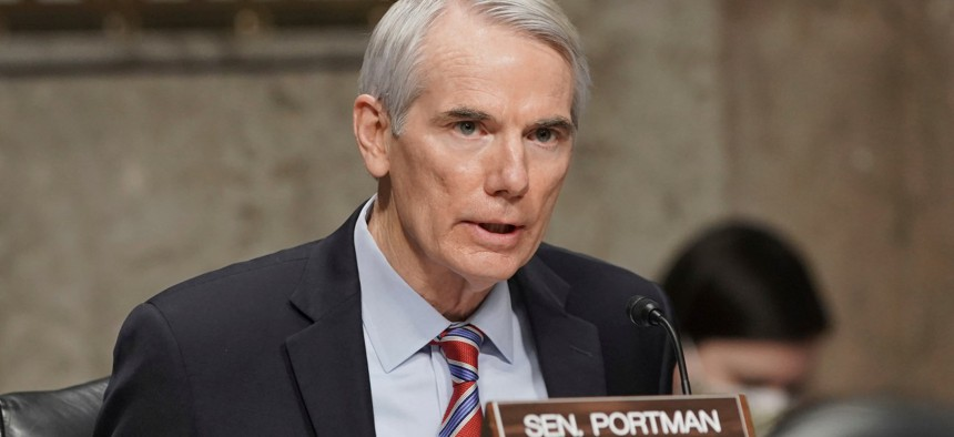 Sen. Rob Portman, ranking Republican on the panel, voted with all Democrats in support of the nominees.
