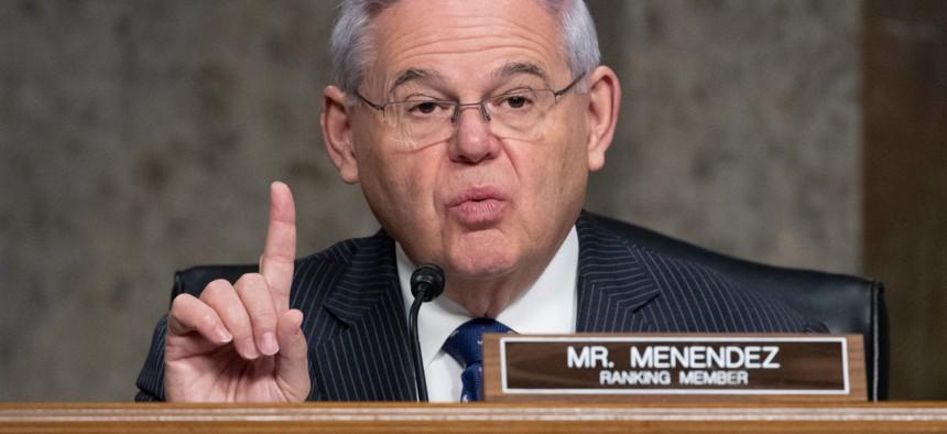 Sen. Bob Menendez, D-N.J., co-sponsored legislation to install an office of inspector general at the Office of the U.S. Trade Representative.