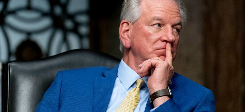 Sen. Tommy Tuberville, R-Ala., introduced the measure.