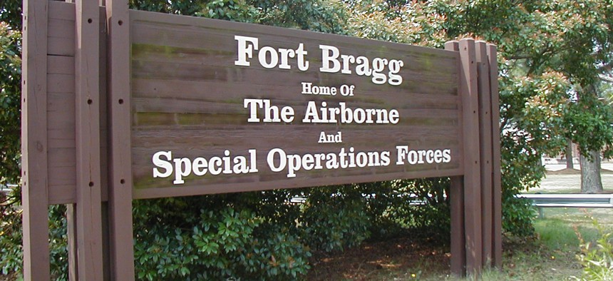 For Bragg is named for native North Carolinian Confederate General Braxton Bragg.